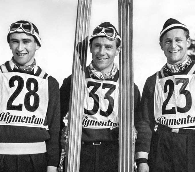 historisches-skispringen